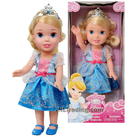 Disney My First Princess Series 14 Inch Doll Set - TODDLER CINDERELLA with Tiara