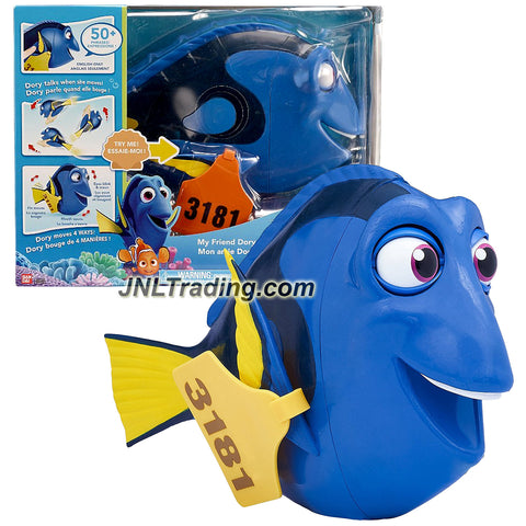 Bandai Year 2016 Disney Pixar Finding Dory Series 12 Inch Long Electronic Figure - MY FRIEND DORY with Moving Mouth, Eye, Fins and Tail Plus 50 Phrases