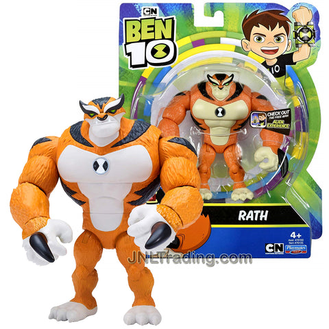 Year 2018 Cartoon Network Ben Tennyson 10 Series 4-1/2 Inch Tall Figure - RATH