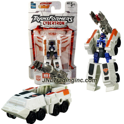 Hasbro Year 2005 Transformers Cybertron Series Legends Class 3 Inch Tall Robot Action Figure - Autobot Medic and Technical Expert RED ALERT (Vehicle Mode: Mobile Missile Launcher)