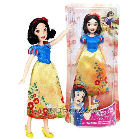 "Year 2017 Disney Princess Royal Shimmer Series 10 Inch Doll - SNOW WHITE E0275 from ""Snow White and the Seven Dwarfs"""