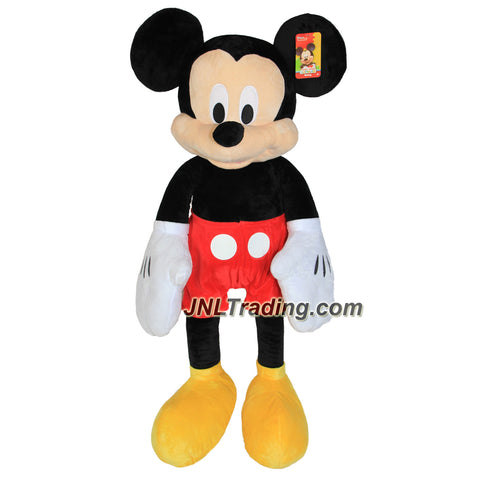 Just Play Year 2016 Disney Series 37 Inch Tall Jumbo Plush Figure - MICKEY MOUSE