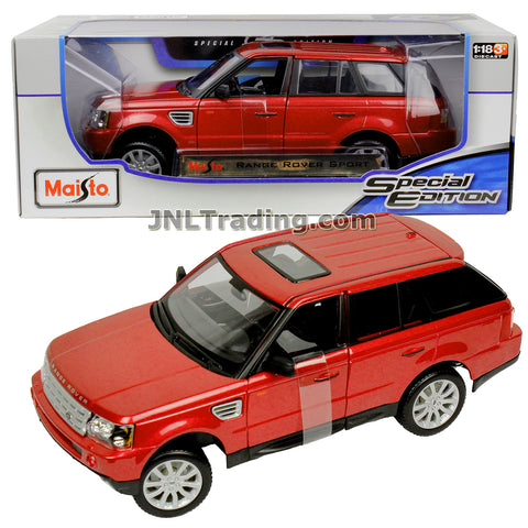Maisto Special Edition Series 1:18 Scale Die Cast Car Set - Copper Color Luxury SUV Sports Utility Vehicle RANGE ROVER SPORT