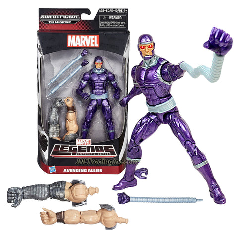 "Hasbro Year 2015 Marvel Legends The Allfather Infinite Series 6"" Tall Action Figure - Avenging Allies Marvel's MACHINE MAN with 2 Pair of Hands (Regular and Elongated) Plus The Allfather's 1 Pair of Arm"