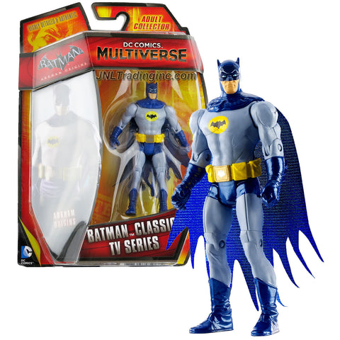 "Mattel Year 2014 DC Comics Multiverse ""Batman Arkham Origins"" Series 4 Inch Tall Action Figure - BATMAN CLASSIC TV SERIES (CDW50)"
