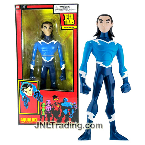 Bandai Year 2005 DC Comics Teen Titans Go! Series 10 Inch Tall Action Figure - AQUALAD with Display Base