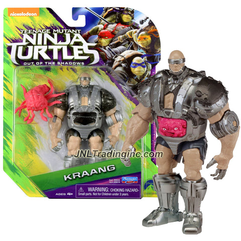 Playmates Year 2016 Teenage Mutant Ninja Turtles TMNT Movie Out of the Shadow Series 5-1/2 Inch Tall Action Figure - KRAANG