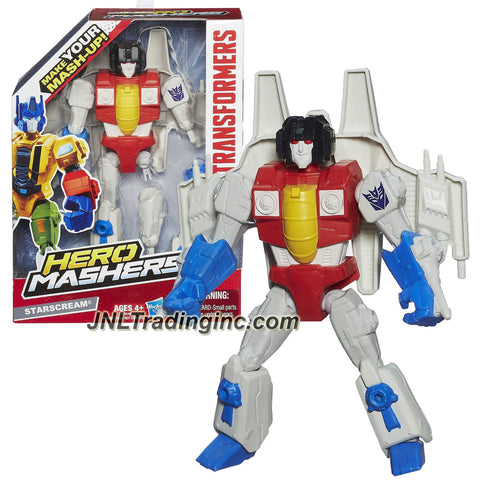 Hasbro Year 2013 Transformers Hero Mashers Series 6 Inch Tall Action Figure - STARSCREAM with Detachable Hands and Legs