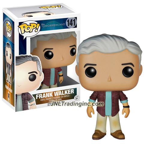 Funko Year 2015 Pop! Disney Movie Series Tomorrowland 4 Inch Tall Vinyl Bobble Head Figure #141 - FRANK WALKER