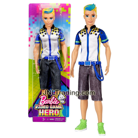 Mattel Year 2016 Barbie Video Game Hero Series 12 Inch Doll - KRIS DTW09 with Green Shoes