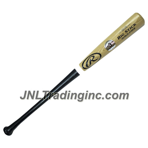 "Rawlings Adult Wood Baseball Bat - BIG STICK 325 LITE, 2-1/2"" Diameter, Ash Wood, 31/32"" Adult Handle, Drop: -3, Length: 34"""