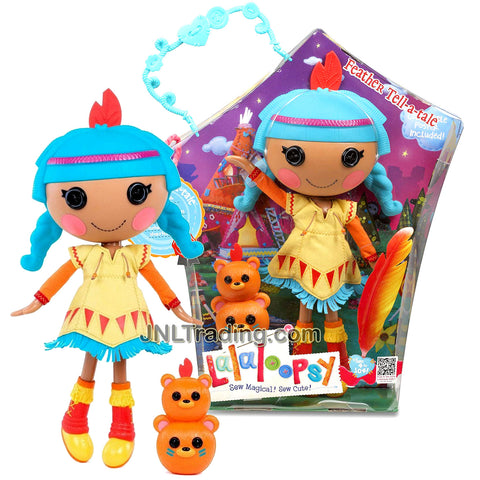 Lalaloopsy Sew Magical! Sew Cute! 12 Inch Tall Button Doll - Feather Tell-a-tale with Pet Totem Bears Plus Bonus Poster Inside