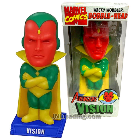 Funko Wacky Wobbler Marvel Comics 7 Inch Bobble-Head Action Figure - The Avengers VISION
