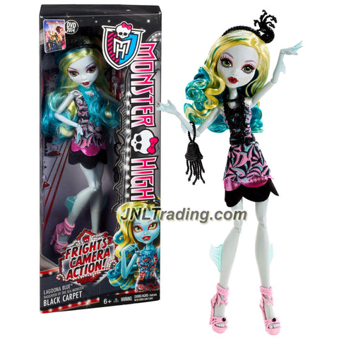 Mattel Year 2013 Monster High Frights Camera Action Hauntlywood 11 Inch Doll