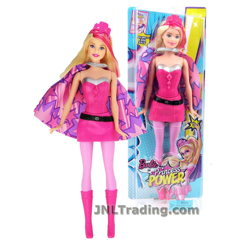 Barbie Year 2014 Princess Power Series 12 Inch Doll Set - PRINCESS KARA CFF60 with Removable Cape and Tiara