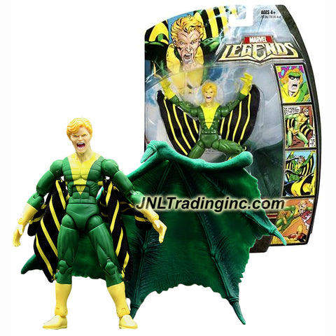 Hasbro Year 2006 Marvel Legends Annihilus Series 6-1/2 Inch Tall Action Figure - BANSHEE with Annihilus' Wing