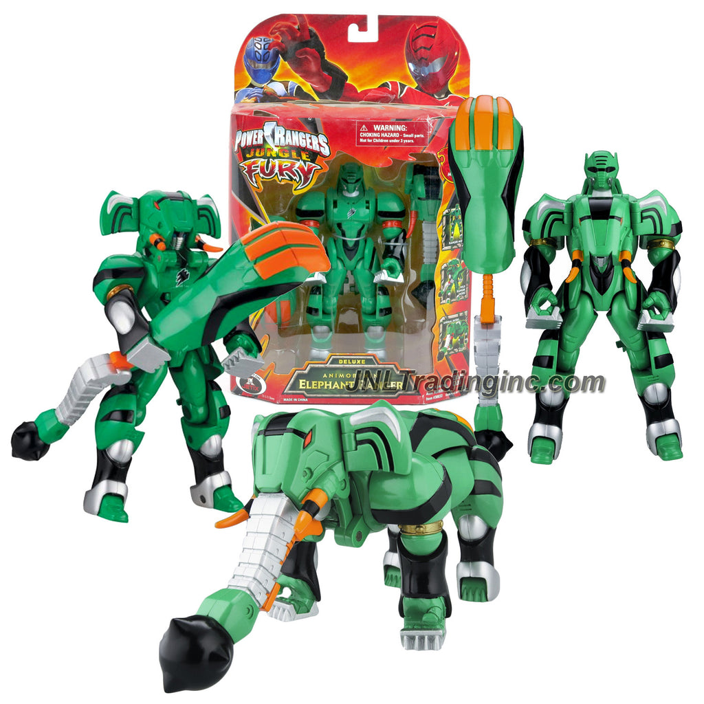 Bandai power rangers jungle fury series 7 tall figure animorphin bandai power rangers jungle fury series 7 tall figure animorphin elephant ranger with 3 modes of play green ranger wild ranger and animal voltagebd Image collections