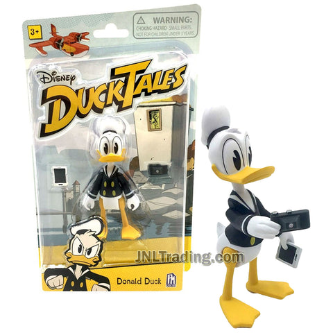 Disney DuckTales Series 4 Inch Tall Figure - Donald Duck with Camera and Cellphone