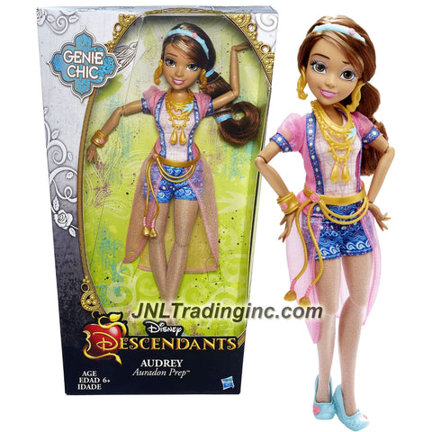 Hasbro Year 2015 Disney Descendants Genie Chic Series 12 Inch Doll - Auradon Prep AUDREY with Earrings and Choker Necklace