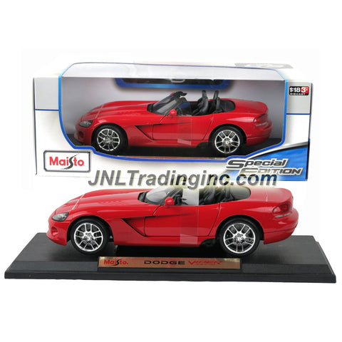 Maisto Special Edition Series 1 18 Scale Die Cast Car Red Color