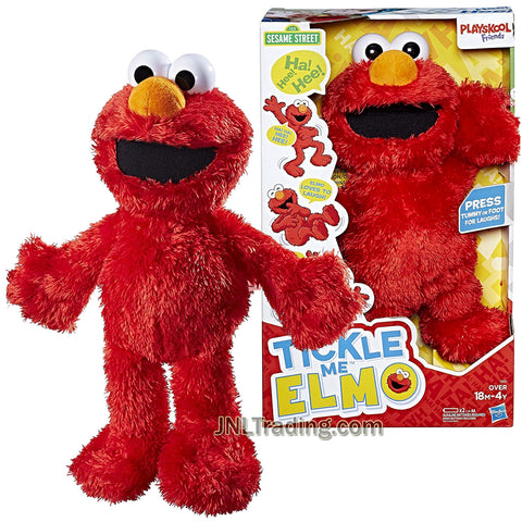 Year 2016 Sesame 123 Street Series 14 Inch Electronic Plush - Tickle Me Elmo with Movement and Sound