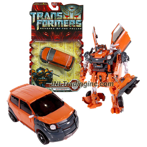 "Hasbro Year 2009 Transformers Movie Series 2 ""Revenge of the Fallen"" 5 Inch Tall Deluxe Class Robot Action Figure - Autobot MUDFLAP with Missile Launcher and 1 Missile (Vehicle Mode : Chevy Trax Concept)"