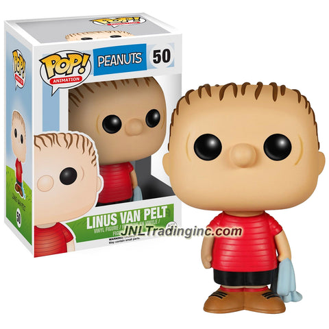 Funko Year 2015 Pop! Schulz Peanuts Series 3-1/2 Inch Tall Vinyl Bobble Head Figure #50 - LINUS VAN PELT