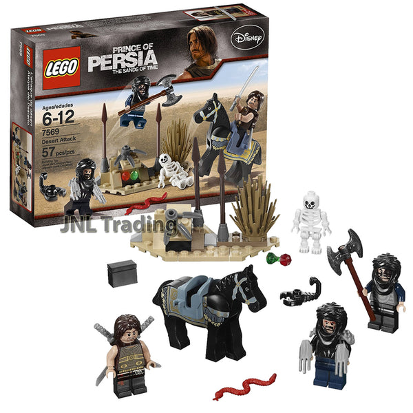 Lego Year 2010 Prince Of Persia Scene Set 7569 Desert