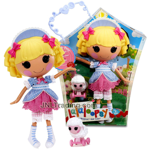 Lalaloopsy Sew Magical! Sew Cute! 12 Inch Tall Button Doll - Little Bah Peep with Pet White Sheep