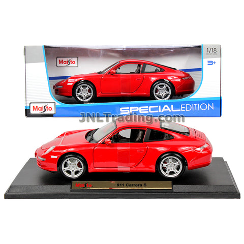 Maisto Special Edition Series 1 18 Scale Die Cast Car Set Red