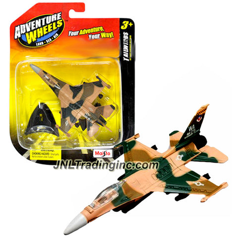 Maisto Adventure Tailwinds Series 1:120 Scale Die Cast United States Military Aircraft - U.S. Air Force Jet Fighter F-16 FIGHTING FALCON with