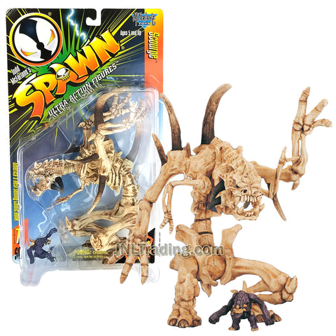 Year 1996 McFarlane Toys Spawn Series 8 Inch Tall Ultra Action Figure - SCOURGE with Nutnik