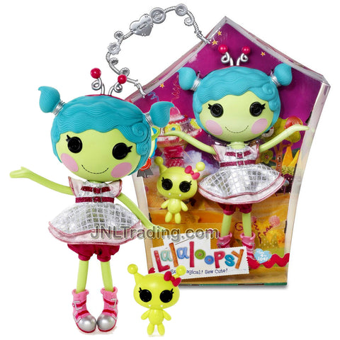 Lalaloopsy Sew Magical! Sew Cute! 12 Inch Tall Button Doll - Haley Galaxy with Pet Alien
