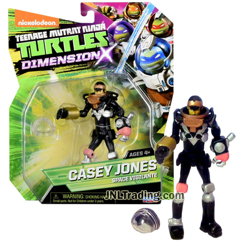 Year 2015 Teenage Mutant Ninja Turtles TMNT Dimension X Series 5 Inch Tall Action Figure - Space Vigilante CASEY JONES with Helmet