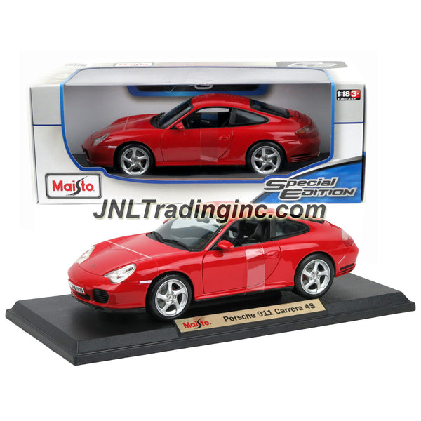 Maisto Special Edition Series 1 18 Scale Die Cast Car Red High