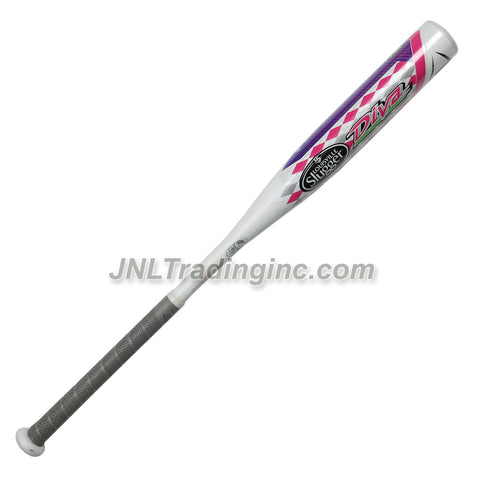 "Louisville Slugger Official Youth Fast Pitch Softball Bat with Synthetic Grip: DIVA FPDV151, 2-1/4"" Diameter, Performance Alloy, Length/Weigth: 29""/17.5 oz (Approved for USSSA, ASA, NSA, ISA and ISF)"