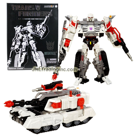 Hasbro Year 2008 Transformers Universe Special Edition Series Deluxe Class 6 Inch Tall Robot Action Figure - Decepticon MEGATRON with Blaster Rifle (Vehicle Mode: Battle Tank)