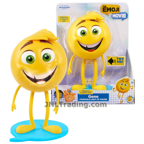 Just Play Year 2017 The Emoji Movie Series 8 Inch Tall Poseable Light Up Figure - GENE with Light Up Mouth