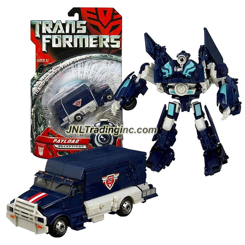 Hasbro Year 2007 Transformers Movie Series Deluxe Class 6 Inch Tall Robot Action Figure - Decepticon PAYLOAD with Automorph Attack Claw (Vehicle Mode: Armored Truck)with Automorph Attack Claw