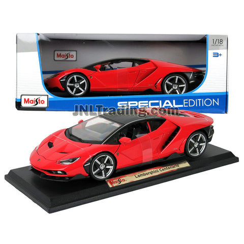 Maisto Special Edition Series 1 18 Scale Die Cast Car Red Sports