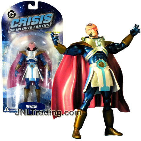 DC Direct Year 2006 Series 1 DC Comics Crisis on Infinite Earths 7 Inch Tall Action Figure - MONITOR with Display Base