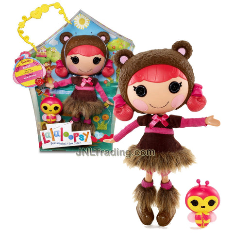 Lalaloopsy Sew Magical! Sew Cute! 12 Inch Tall Button Doll - Teddy Honey Pots with Pet Bee