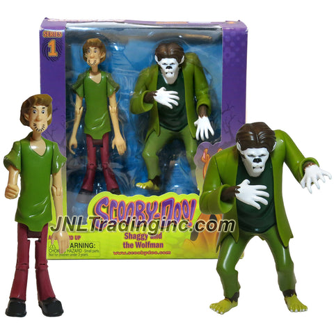 Characters Scooby-Doo! Series 2 Pack 5 Inch Tall Action Figure Set - SHAGGY and the WOLFMAN