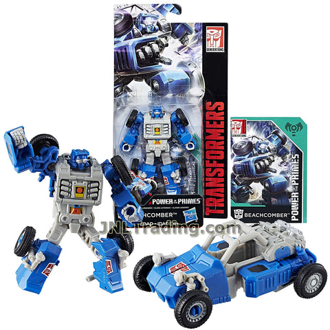 Transformers Year 2017 Generations Power of the Primes Series Legends Class 4 Inch Tall Figure - BEACHCOMBER with Collector Card (Beast: Beach Buggy)