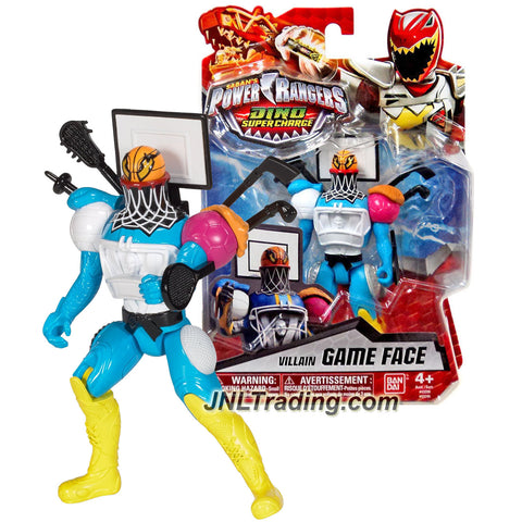 Bandai Year 2016 Saban's Power Rangers Dino Super Charge Series 5-1/2 Inch Tall Action Figure - Villain GAME FACE