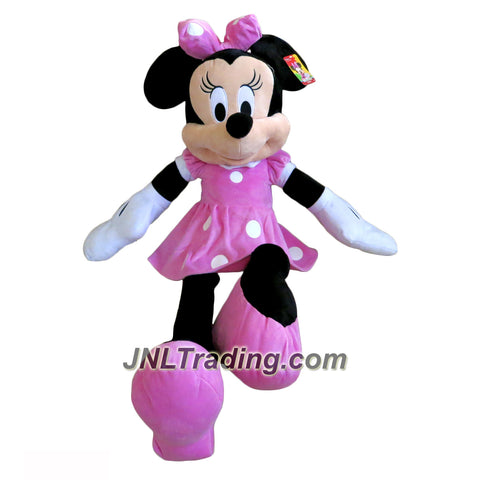 Just Play Year 2016 Disney Series 39 Inch Tall Jumbo Plush Figure - MINNEY MOUSE