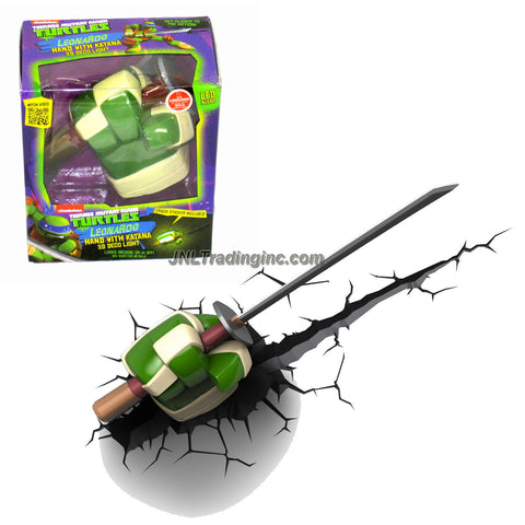 3DLightFX Teenage Mutant Ninja Turtles TMNT Series 3D Night Light - LEONARDO HAND with KATANA