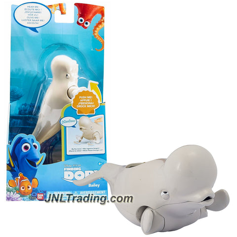 Bandai Year 2016 Disney Pixar Finding Dory Series 7 Inch Long Electronic Figure - BAILEY with Moving Fin and Sound