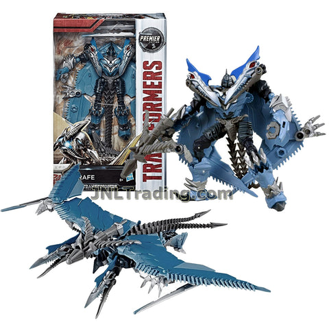 Transformers Year 2016 The Last Knight Movie Premier Edition Series Deluxe Class 5-1/2 Inch Tall Figure - STRAFE with Crossbow (Beast: Pteranodon)