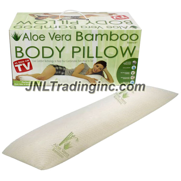 As Seen On Tv Aloe Vera Bamboo Body Pillow With Pressure